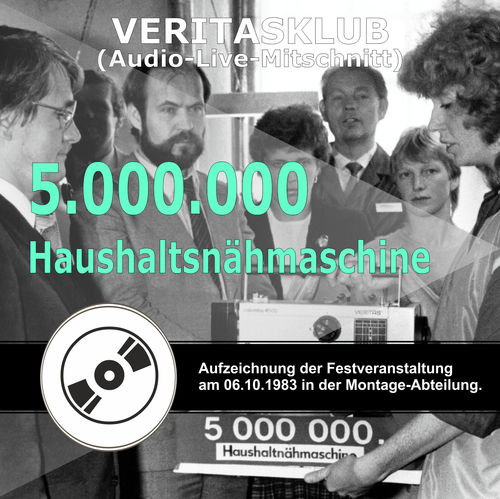 "Audio-CD ""5.000.000 Nähmaschine"""